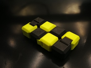 Yet Another Fidget Infinity Cube v2-dual color