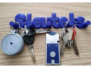 eenvoudig sleutelrek