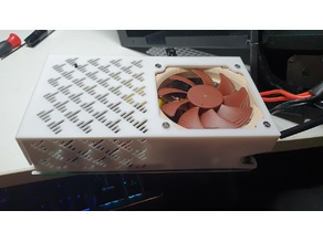 Anycubic I3 S PSU Cover Abdeckung  NEW Version 92mm fan Lüfter