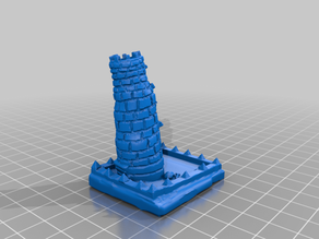 Dice Tower Castle dnd