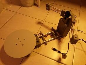 Scanner 3D Ozyris (basé sur Ciclop)