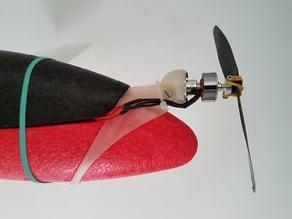 LIDL glider - crash proof motor mount