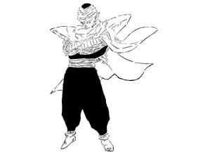 DBZ Piccolo stencil 2