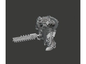 Chainsword & Boltpistol version of Traitor Legions Marines Builder