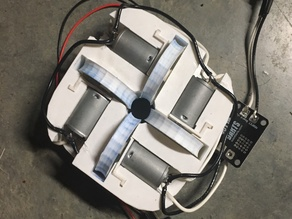 Big-Wheel Nerf Quad-Wheel T.E.D. Cage Afterburner