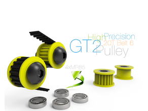 High Precision GT2 Pulley