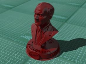ATATÜRK BÜSTÜ (19.Mayıs) - Bust of Mustafa Kemal Ataturk