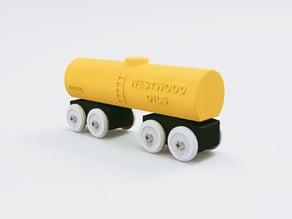 Toy Train Tank Car BRIO / IKEA compatible