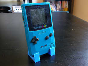 Game Boy Color Display Stand