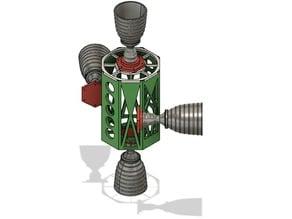 Apollo Lunar Lander Thrusters