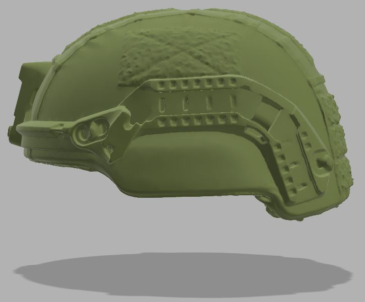 Military Helmet - Mid Cut