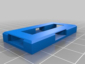 OpenForge/OpenLock bases chamfered for 3D pen welding