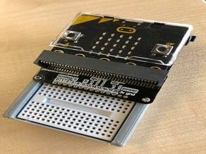 Mini Breadboard holder for Micro:Bit