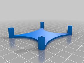 Printable Raspberry Pi standoff plate for UlTi Steel