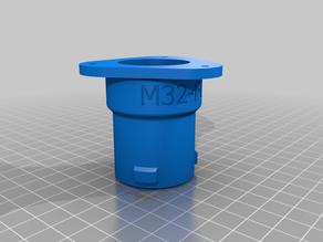 osVAC Adpater M32-FL01 (flange)