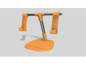 Tablet Rods Stand