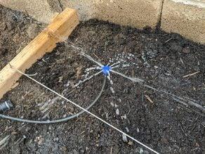 Drip Irrigation Screw Top Sprinkler