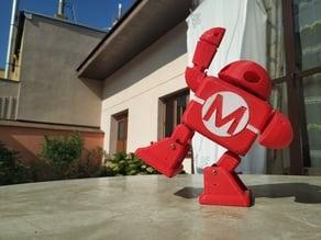 Makey dancing robot of the Maker Faire