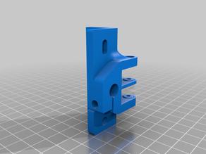 Anet/Hypercube Evolution Idler Mount GT2 8mm rod for 2020