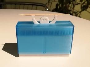 Funny toothpick dispenser 80mm