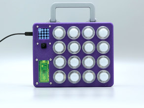 DIY MIDI Controller with LED Arcade Buttons and Raspberry Pi Pico