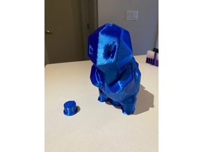 Low-Poly Squirtle Piggybank