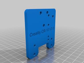 MUTANT Creality CR-10 V2, V3 Stock Fan Mount