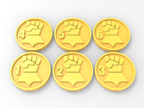 Imperial Fists Objective Markers