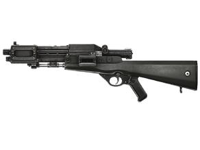 TL-50 Heavy Blaster; fixed parts & wood stock