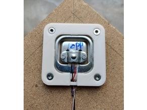 Load Cell fixture case (HX711 half bridge) optimized