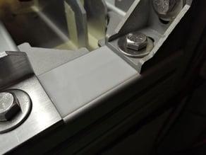 Aluminiumprofil-Abdeckung 40x40, Nut 8 - 34mm breit, 20-200mm) by Kregary