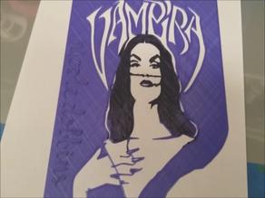 Vampira Stencil