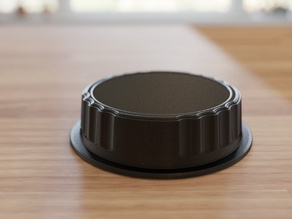 Rear lens cap for Canon EF
