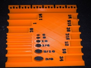 Screw Sorter for Standard American screw sizes