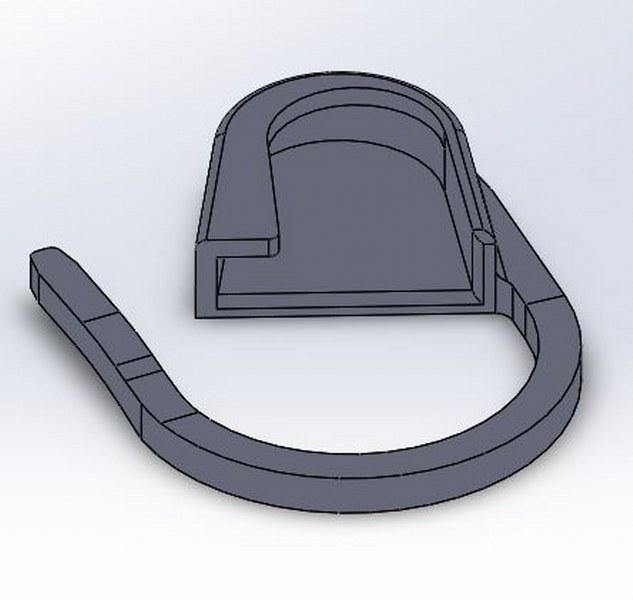 Sicherheitsnadel - Safety-pin - Key Ring - Schlüsselanhänger - Müllsackverschluss - Schloss