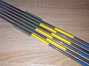 Belt clips arrow holder