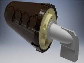 QO-100 - 2.4GHz - 4.5 turn Helix universal 60mm LNB horn holder