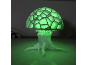 Voronoi Mushroom Tree Trunk Remix