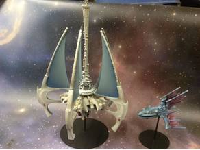Battlefleet Gothic Eldar Havenspire Space Station