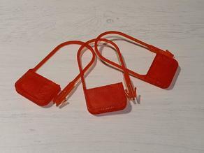 Disposable anti-tamper lock