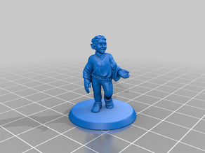 Halfling D&D Miniature