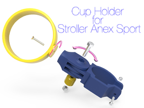 Cup holder for stroller Anex Sport