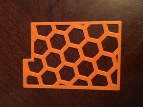 Card Divider - hex