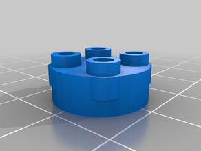 Building Brick Compatible Mount for Stubby Ring-a-thing