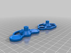 Remixed wheel part