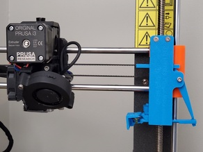 Retractable Purge Mechanism, for MultiColor 3D printing, Replaces purge blocks & wipe towers