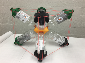 Gatorade Bottle Project: From Octahedron to Cube/Hexahedron or Vice Versa, Platonic Duals