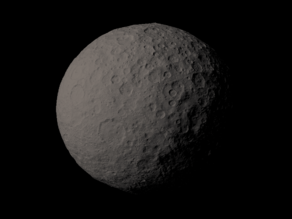 1 Ceres scaled one in ten million