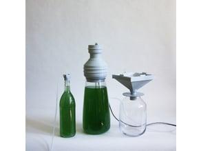 Spirulina Cultivation Lid - Chimney