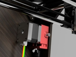 CTC Y Axis Stepper Motor Mount with adjustable belt tensioner V2.0 (And all Replicator clones)